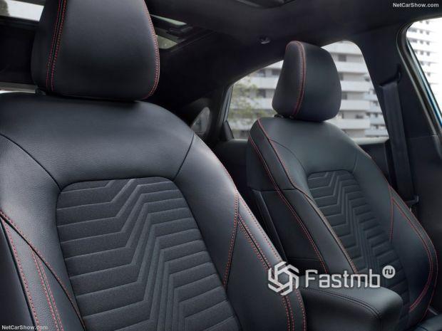 Ford Puma 2020, сидения