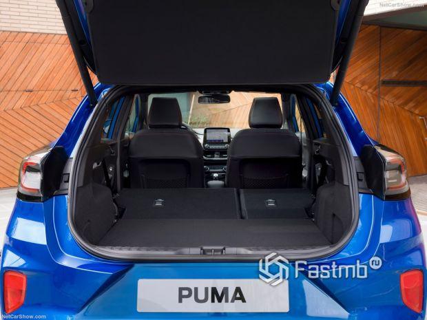 Ford Puma 2020, багажник
