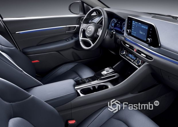 Передняя панель Hyundai Sonata 2020
