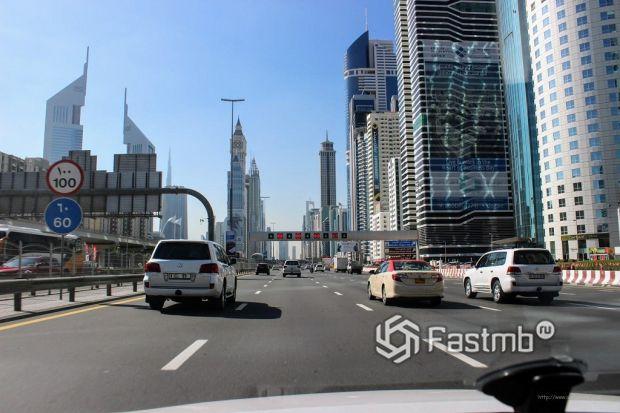 дороги в ОАЭ