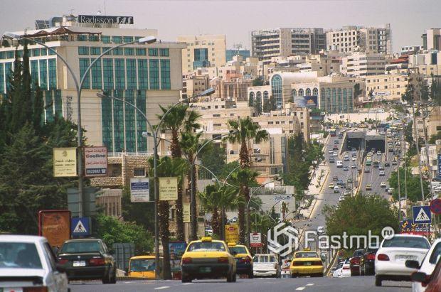 дороги в Аммане (Иордания)
