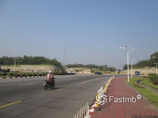 дороги в Нейпьидо (Мьянма)
