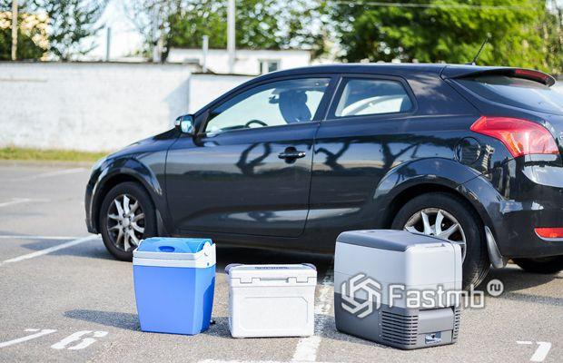Разновидность автомобильных холодильников