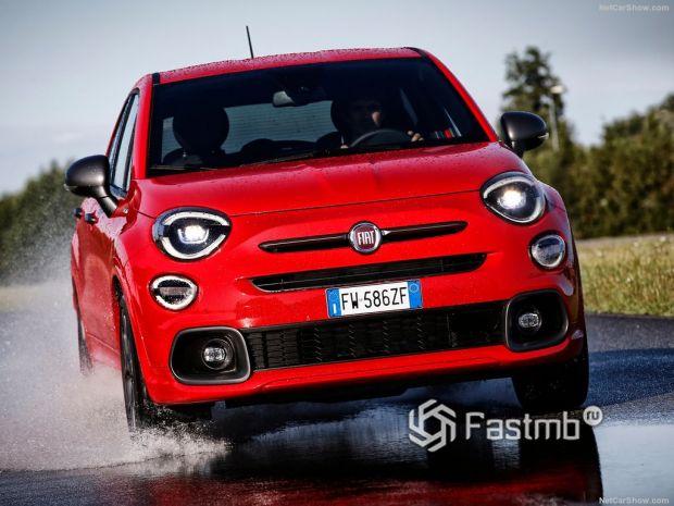 Fiat 500X Sport 2020, вид спереди