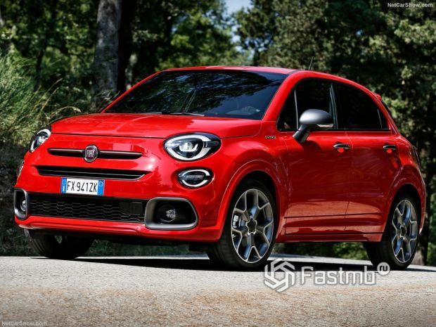 Fiat 500X Sport 2020: спортивный «вседорожник»