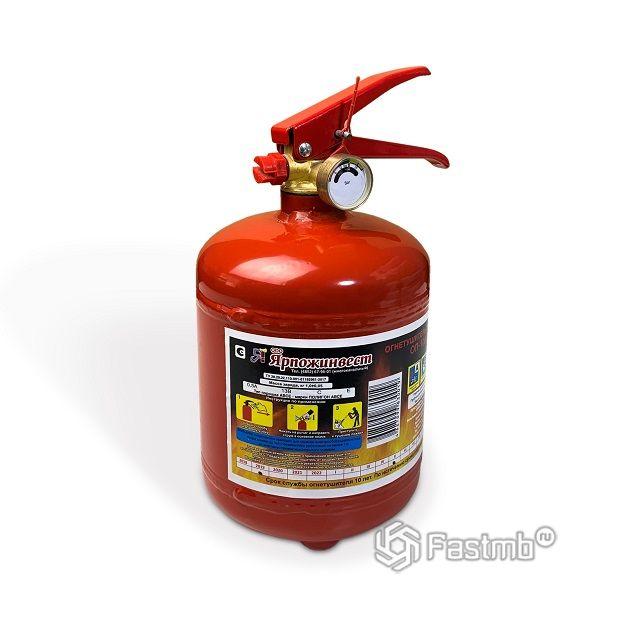 огнетушитель «Ярпожинвест» (порошковый)