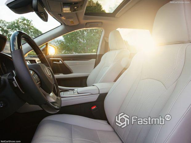 Салон Lexus RX L 2020, передние сидения