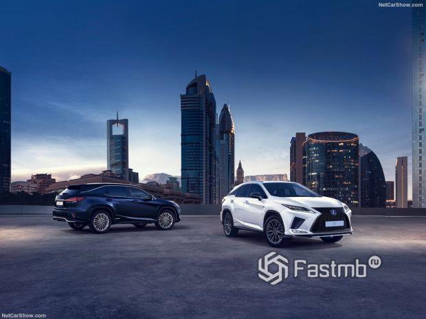 Салон Lexus RX L 2020, технические характеристики