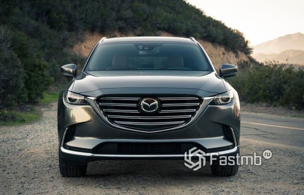 Mazda CX-9 2017, передняя оптика