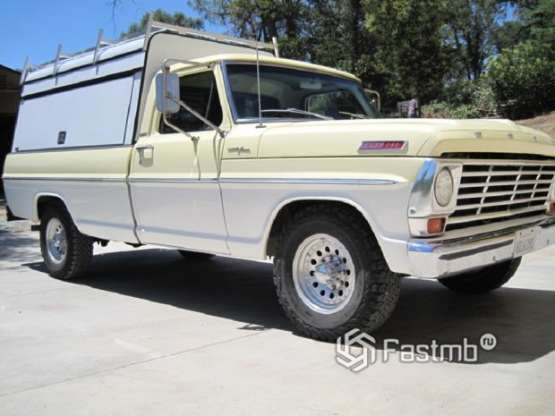 Ford F-250 Camper Special 1967