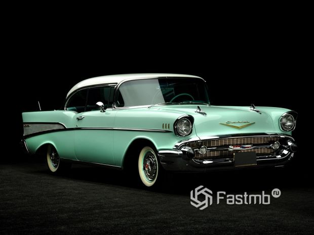 Chevrolet Bel Air Sport Coupe 1957 года