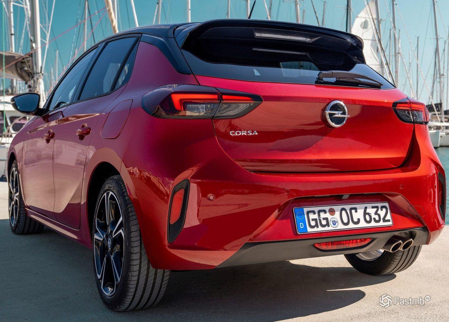 Opel Corsa 2020 в Украине: цена, комплектации, характеристики