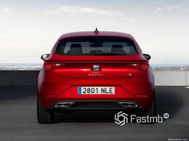 Seat Leon Mk4 2020, вид сзади