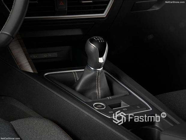 Салон Seat Leon Mk4 2020, рычаг КПП