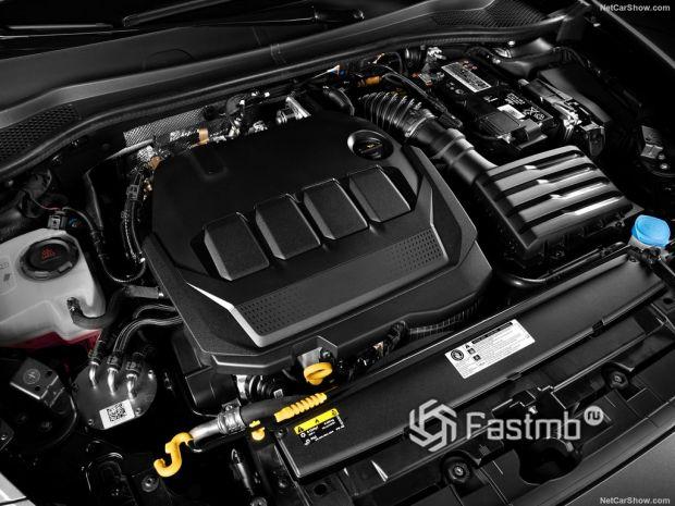 Seat Leon Mk4 2020, двигатель