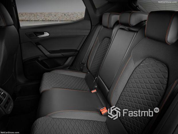 Салон Seat Leon Mk4 2020, вид сзади
