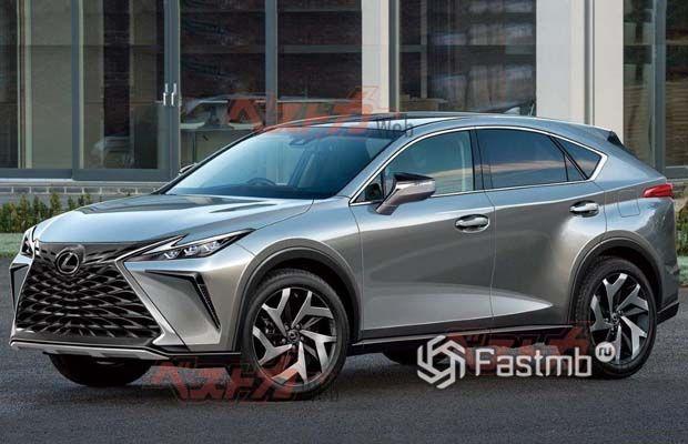Новый Lexus NX 2022, вид спереди