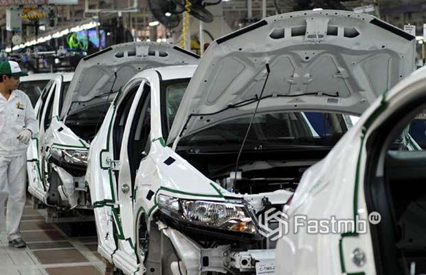 Остановка заводов Хонда