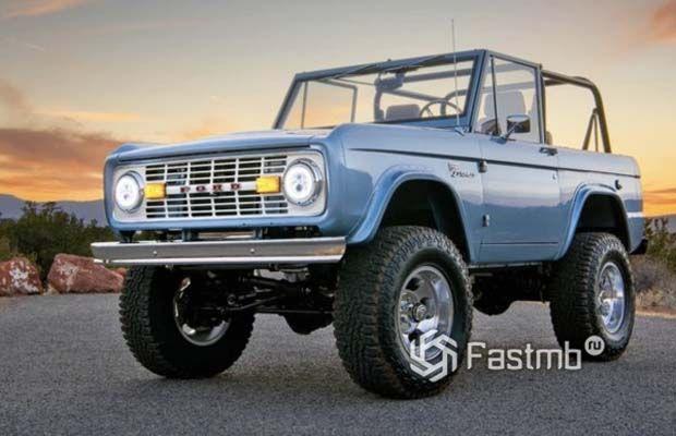 Старый вариант Ford Bronco