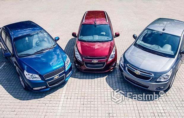 Новые Chevrolet с корнями компании Ravon