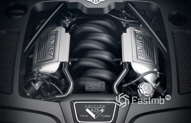 Двигатель Bentley Mulsanne 6.75 Edition by Mulliner 2020