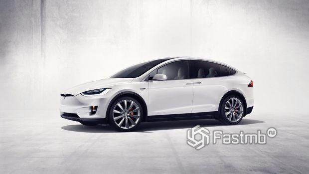 Tesla Model X Performance Ludicrous