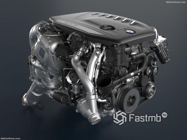 BMW 5-Series 2021, двигатель