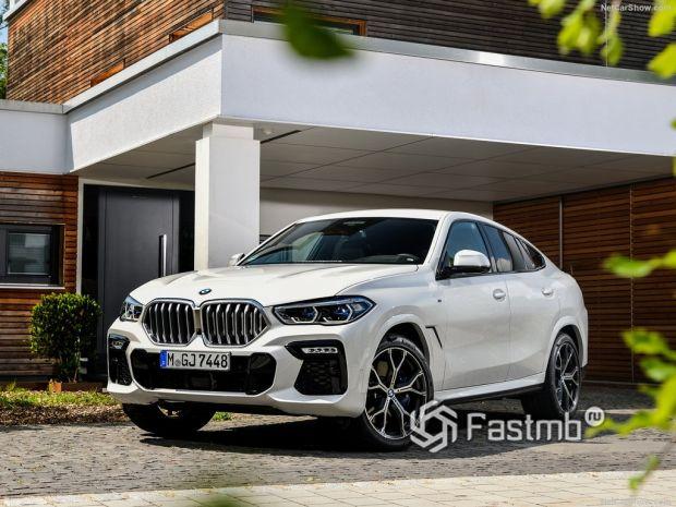 BMW X6 2020 – новый роскошный «баварец» с богатой комплектацией