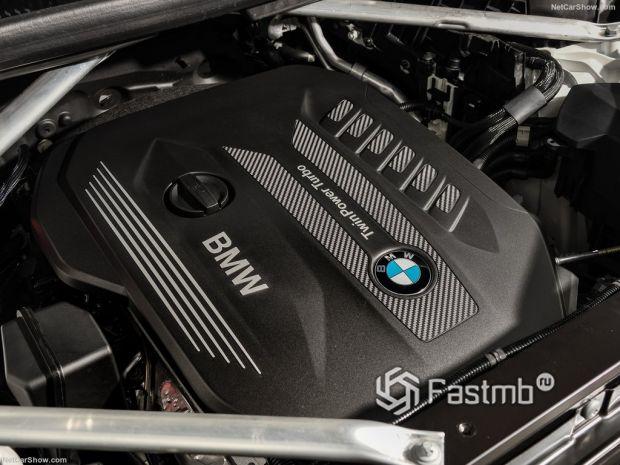 BMW X6 2020, двигатель