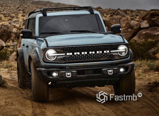 Ford Bronco 5dr 2021, оптика внедорожника