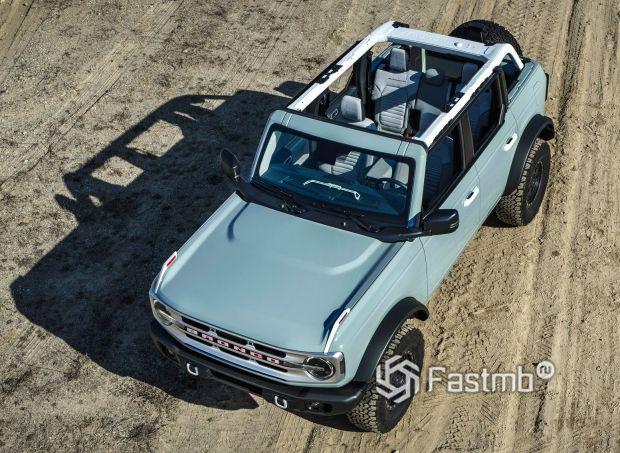 Ford Bronco 5dr 2021, капот