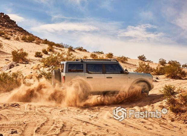Ford Bronco 5 door 2021, проходимость внедорожника