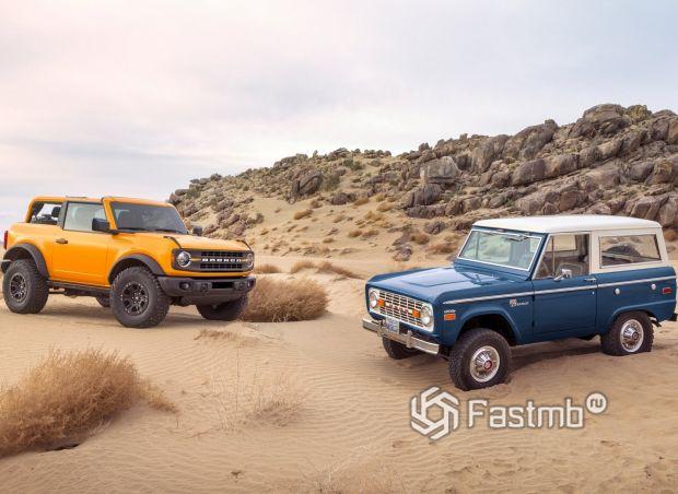 Два поколения Ford Bronco