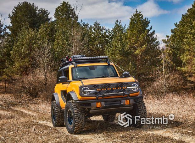 Ford Bronco 3DR 2021, клиренс внедорожника