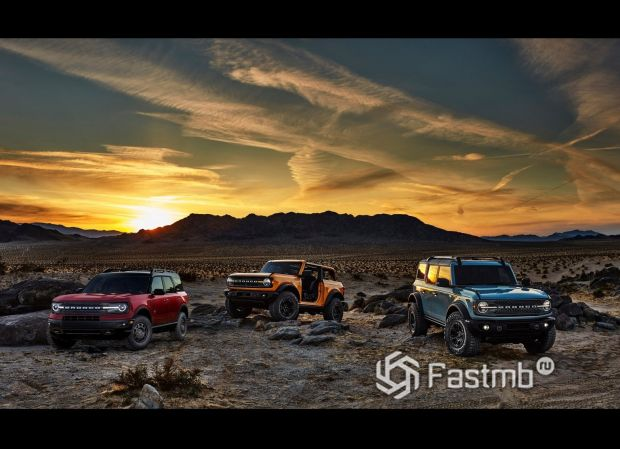 Новое семейство Ford Bronco 2021