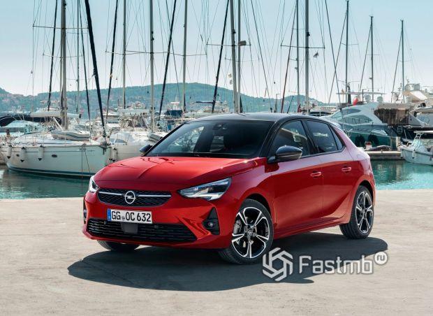 Новый хэтчбек Opel Corsa 2020