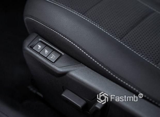Opel Corsa 2020, регулировка сидений