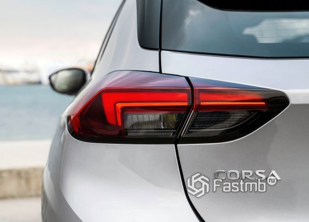 Opel Corsa 2020, LED стоп