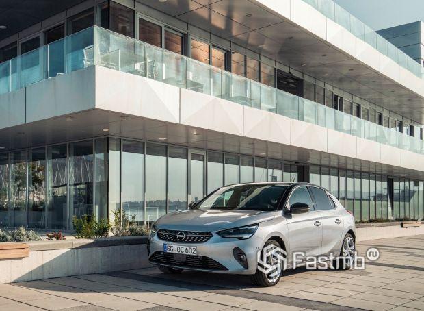 Opel Corsa 2020, LED противотуманки