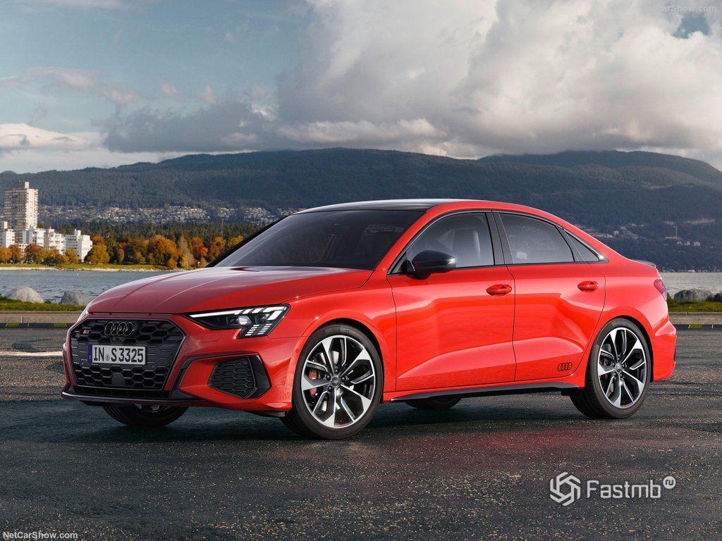 Audi S3 2021 Sedan: обзор, характеристики, фото
