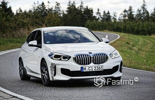 BMW 128ti 2020, вид спереди