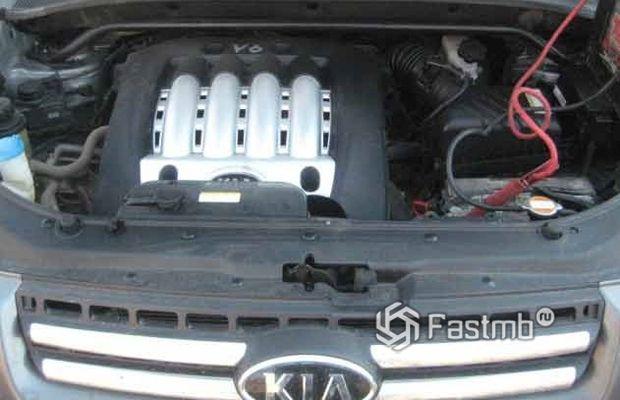 Kia Sportage 2007 рестайлинг, двигатель