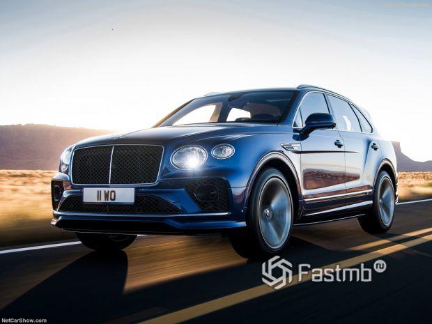 Bentley Bentayga Speed 2021 – новый премиальный кроссовер от БМВ