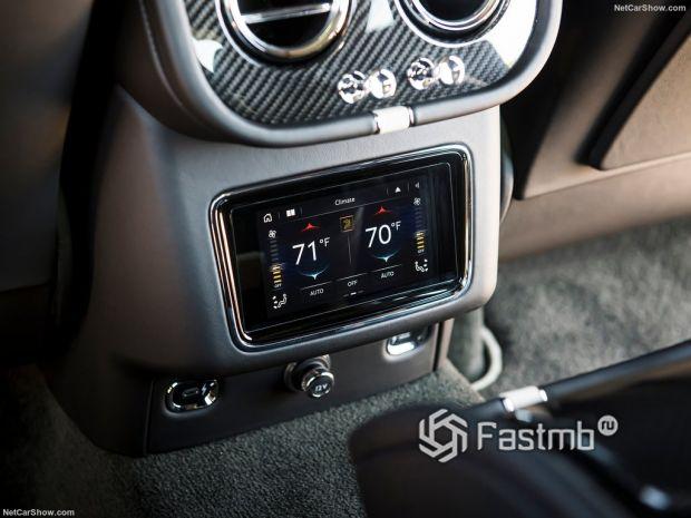 Салон Bentley Bentayga Speed 2021, мультимедиа