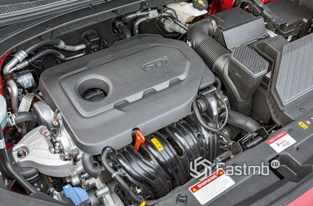 Kia Sportage 2018 рестайлинг, двигатель