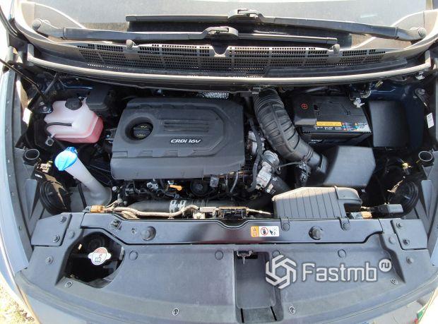 Kia Sportage 2014 рестайлинг, двигатель