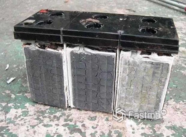 Сульфатация свинцовых электродов