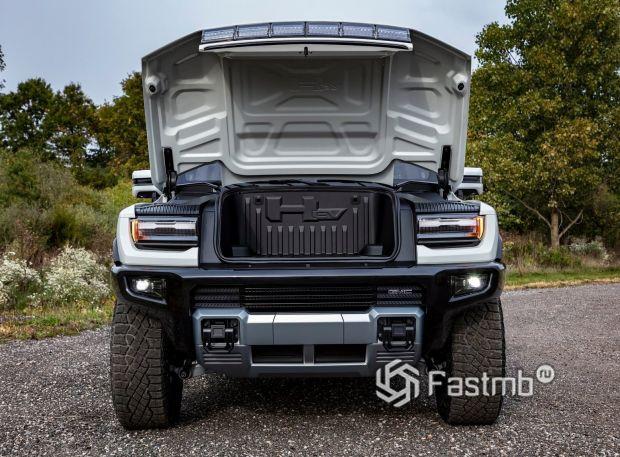 GMC Hummer EV 2020, дополнительный багажник