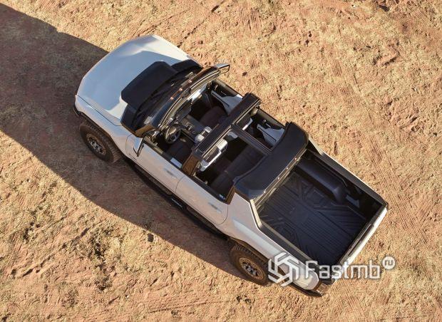 Hummer EV 2021, крыша пикапа