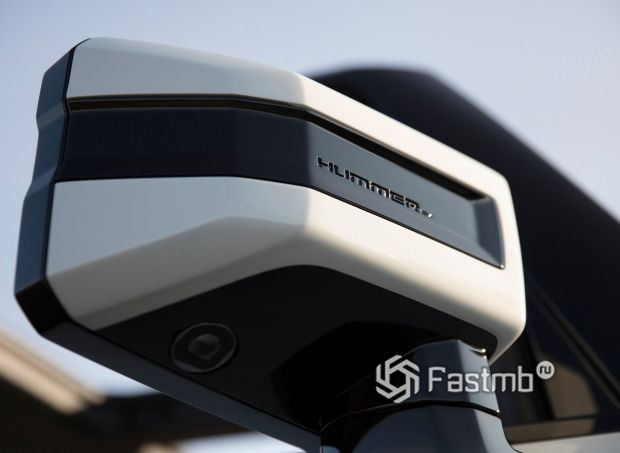 GMC Hummer EV 2021, корпус боковых зеркал